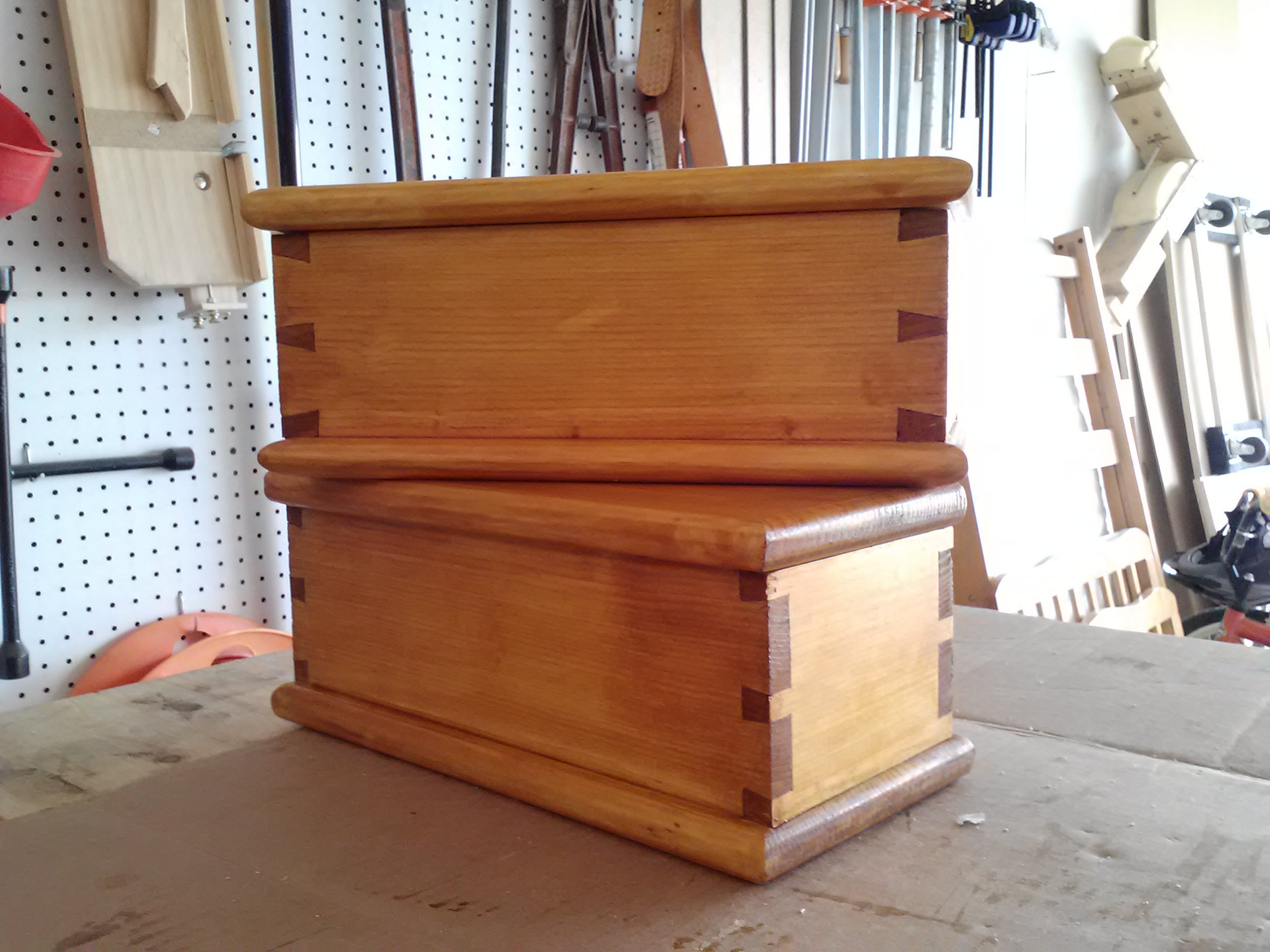 Dovetail Box By Harshdoug Woodworking Masterclasses