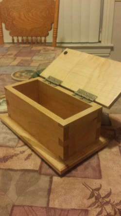 Dovetail Box by Todd Dreiling