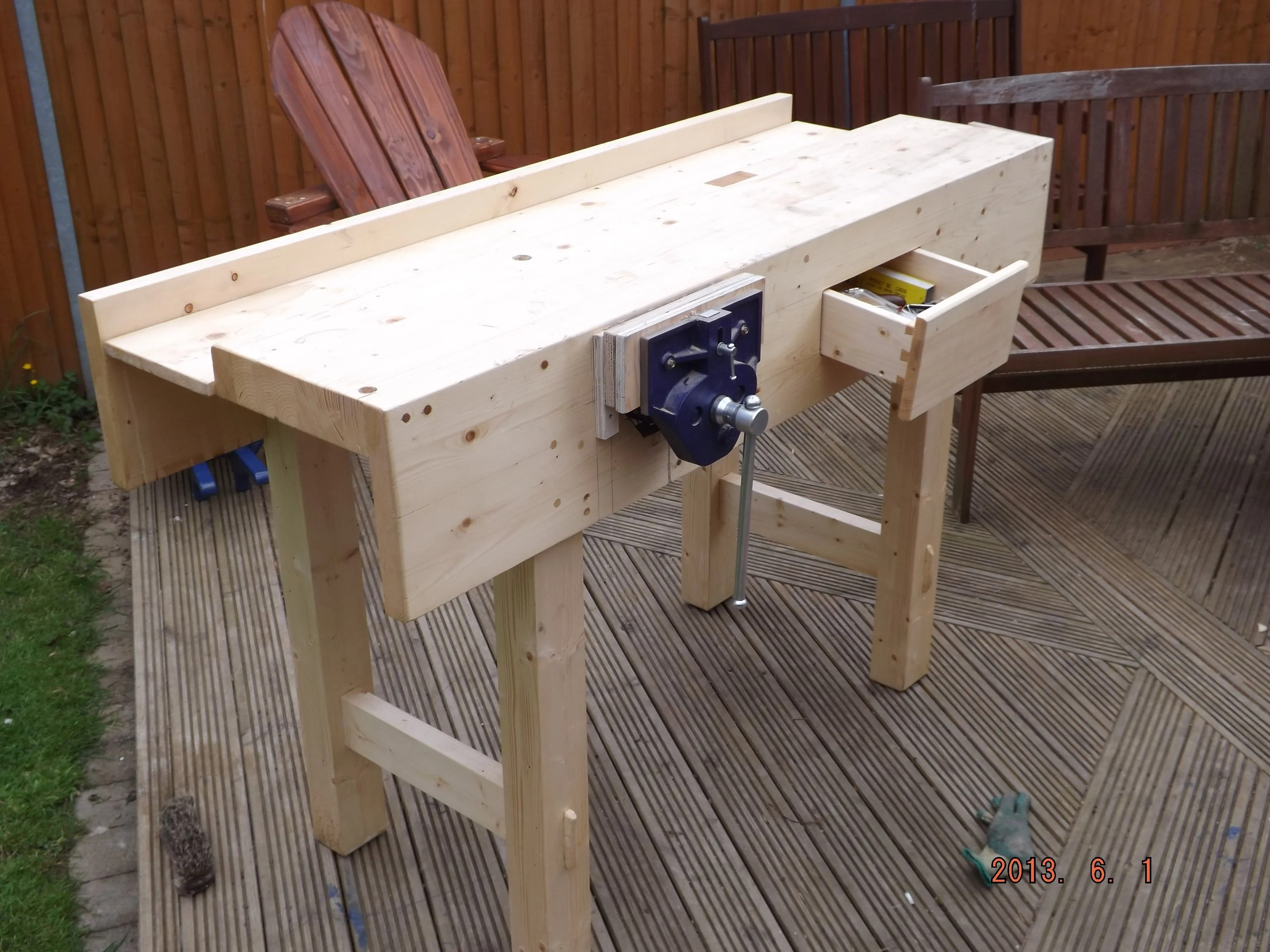 Workbench by david o'sullivan
