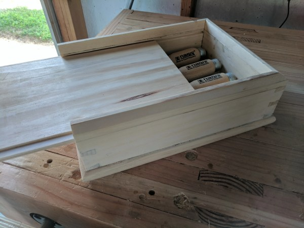 Dovetail Box by Andrew Konopitski