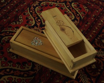 Dovetail Boxes by Daithi O'Riogain