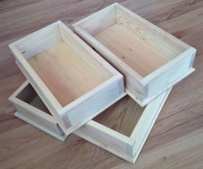 Dovetail Boxes by Karol