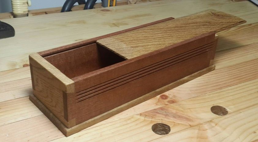 Dovetail Box by haim hen