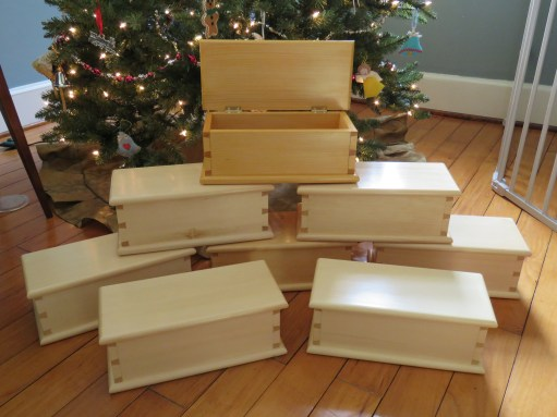 Dovetail Box by Aaron