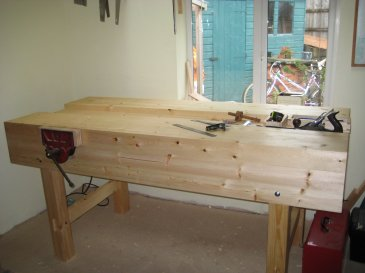 Workbench by Mick Mercer
