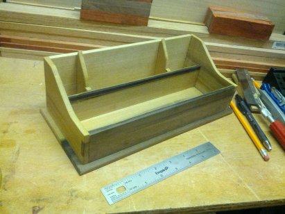 Dovetail box by Mike Prutz