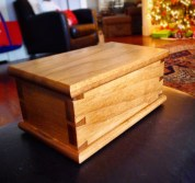 Dovetail Box by Brett Dowden