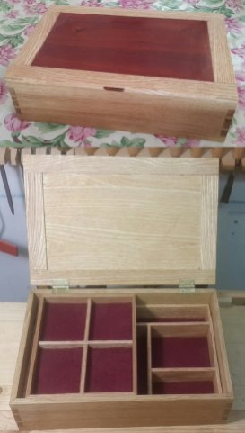 Dovetail Box by hhcraft