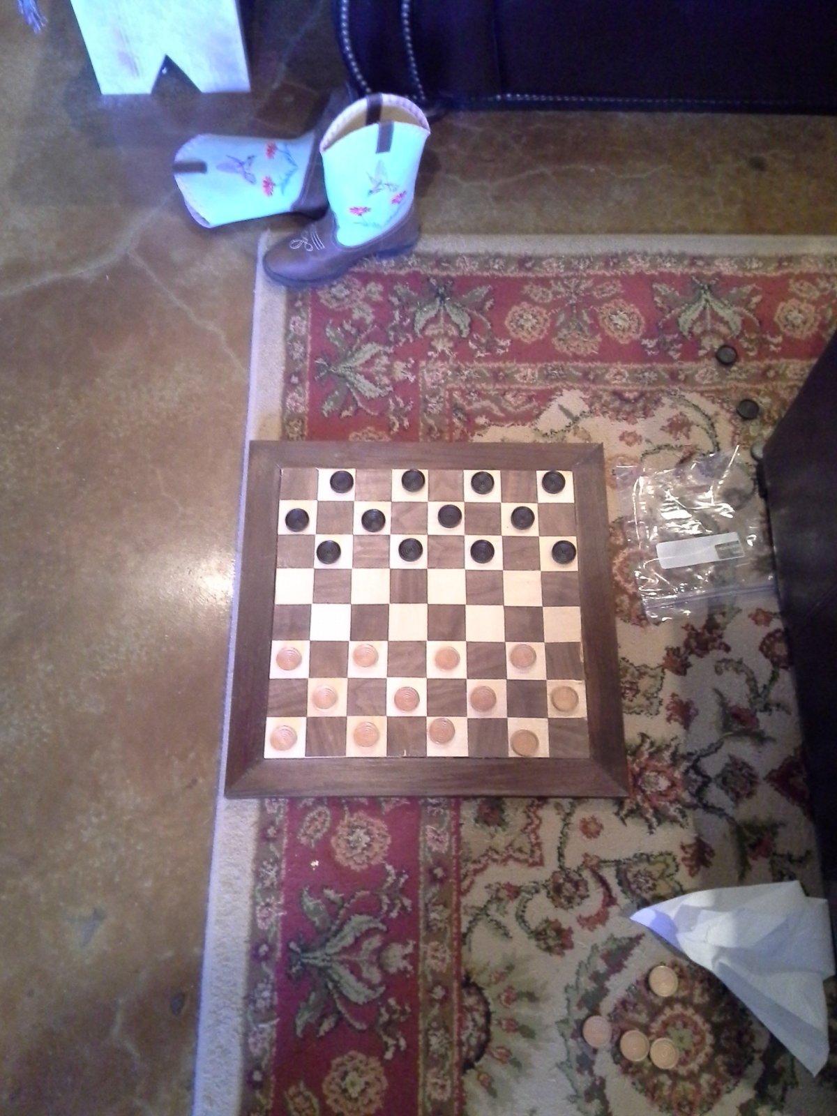 Checkerboard by Michael York