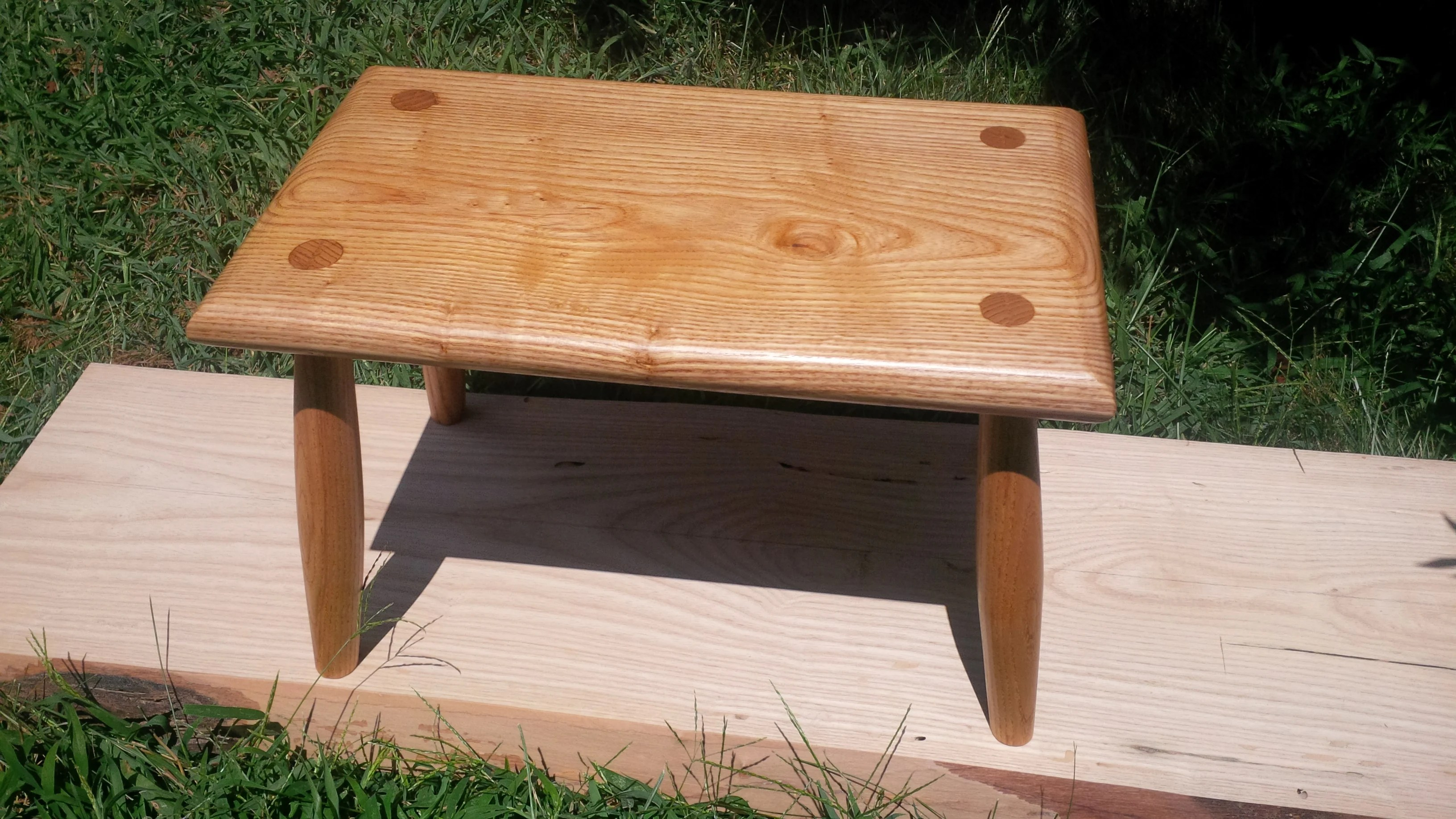 Step Stool by Bill Warnock
