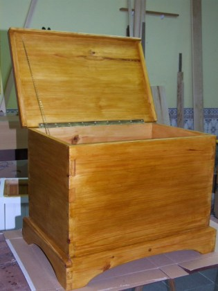 A dovetail chest on a budget (the 36 euro challange) by António Samagaio
