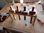 Oak Marking Gauge Rack by Gary Blair