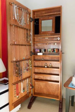 Jewelry Storage Mirror by AnthonyH