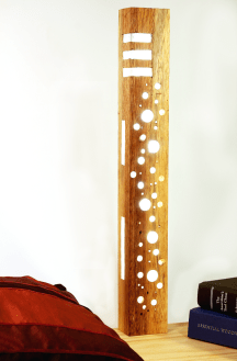 Reclaimed Wood Lamp by andii