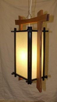 Japanese lamp by Ian Lambert