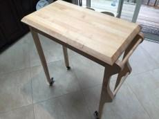 Rolling Kitchen Cart by lowpolyjoe