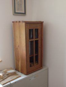 Cabinet for books by Orestes Valella