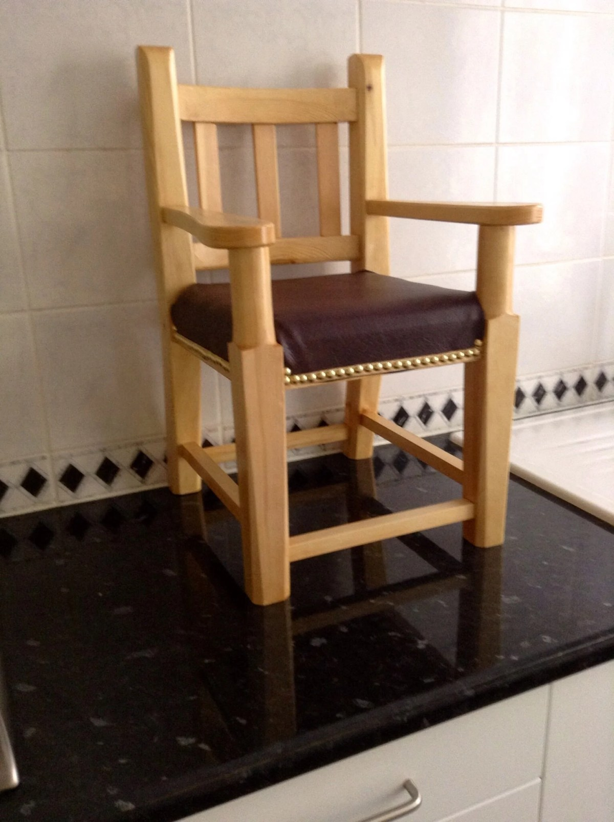Child's chair by Ray Clark