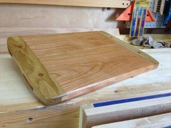 Breadboard-end Cutting Board by Greg Merritt