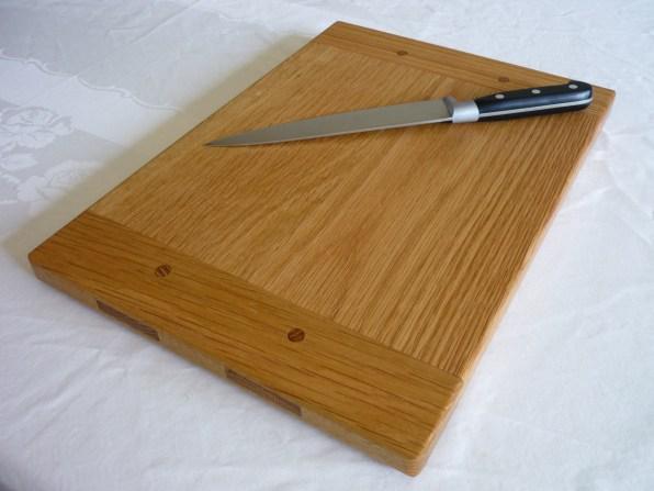 breadboard end cutting board by Martin King