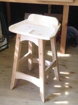 Bench stool by rayc21