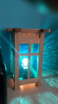 Craftsman-style Lamp by rotaryw