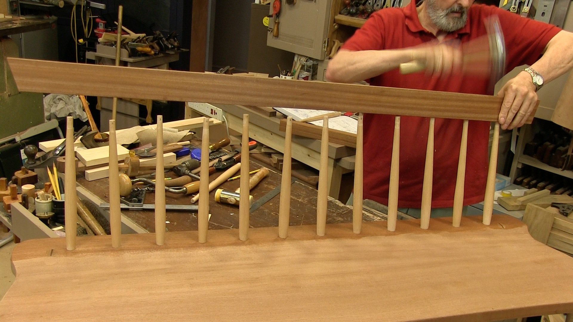 Shaker Style Bench Seat Episode 6 Woodworking Masterclasses