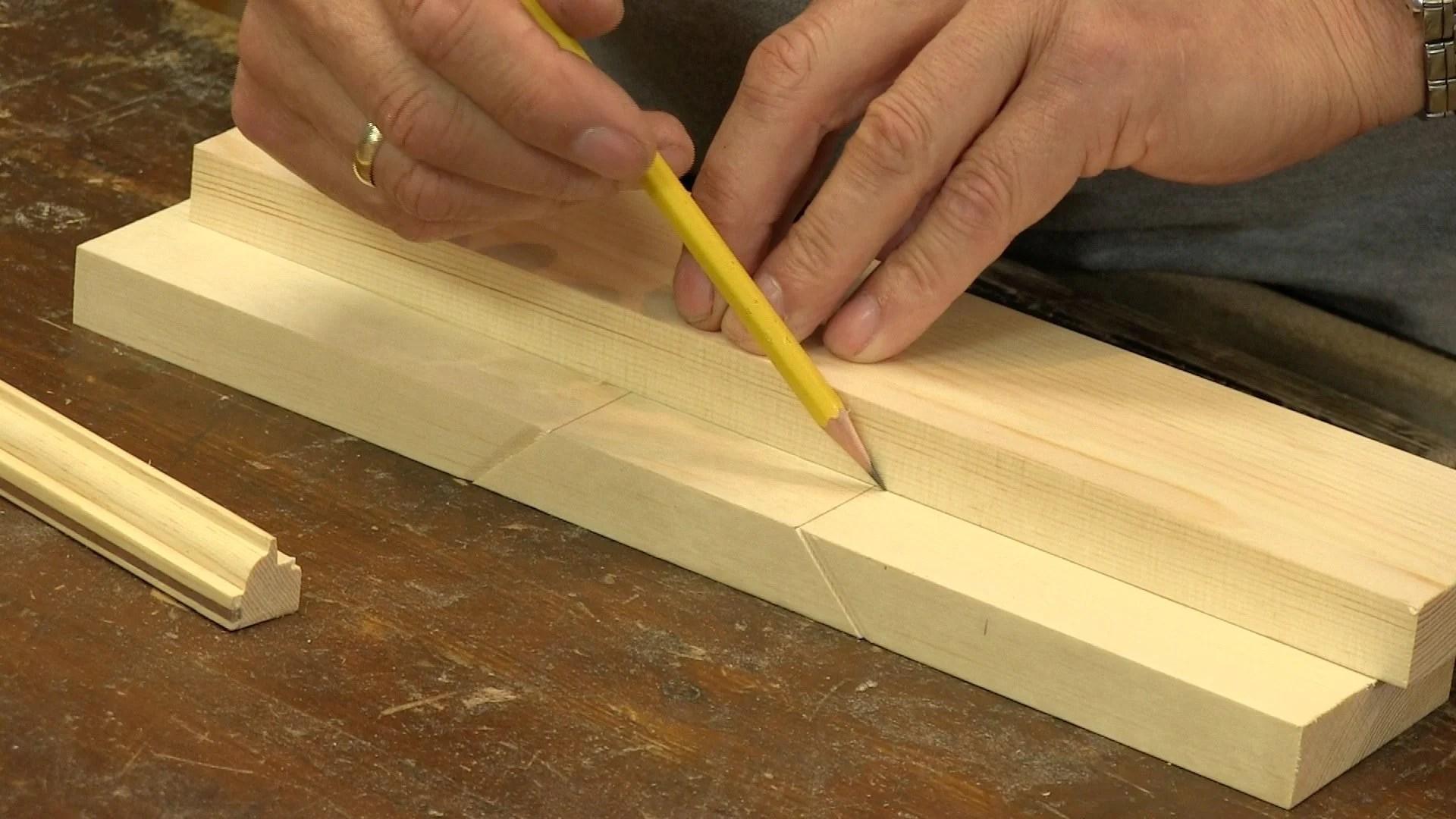 Poor Mans Mitre Box  Woodworking Masterclasses