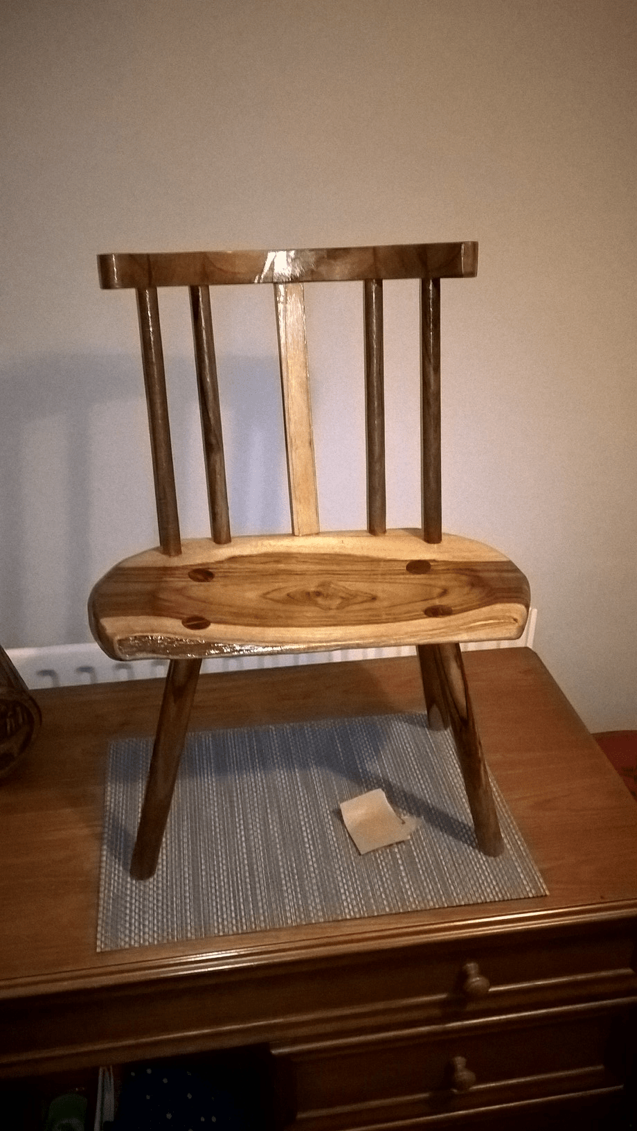 Child's chair from Teak