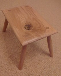 Foot Stool by rcfulcher
