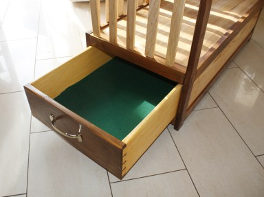Sidecar Cot (drawer detail) by markdennehy