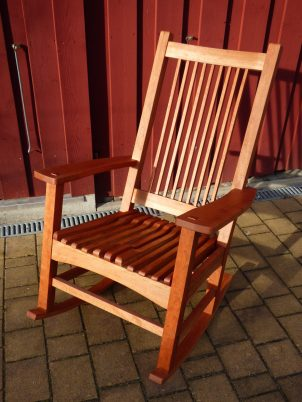 Rocking Chair by Norbert Pauli