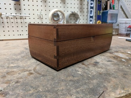 Sapele with Brusso hardware