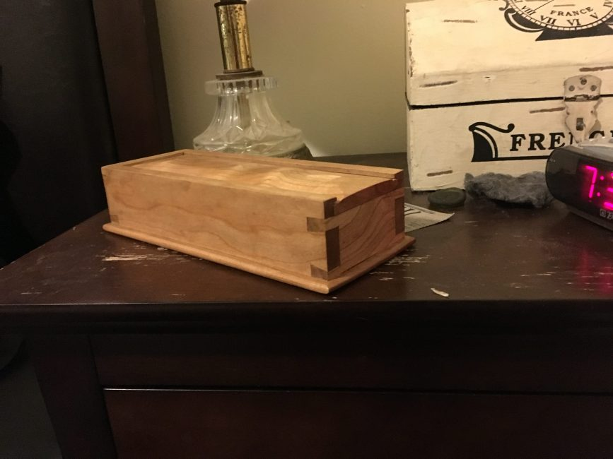 Dovetail Box by Zach Patberg