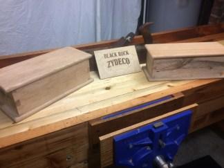 Workbench from reclaimed Fir
