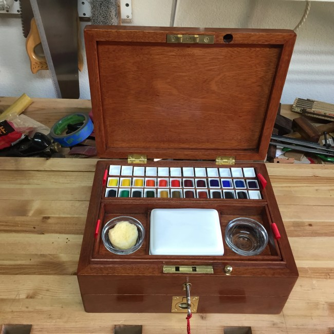 Watercolor Artist Box by wtwegner