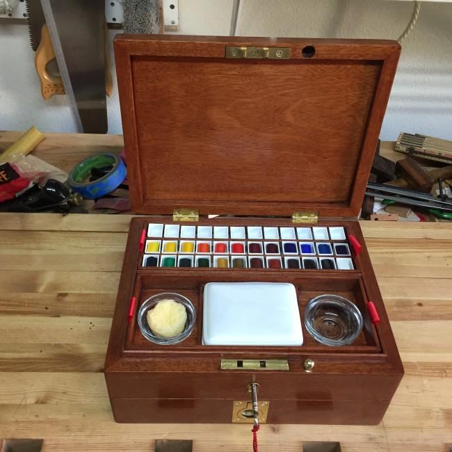 Watercolor Artist Box by wtwegner