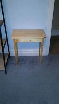 Small Pine Table by Anthony Greitzer