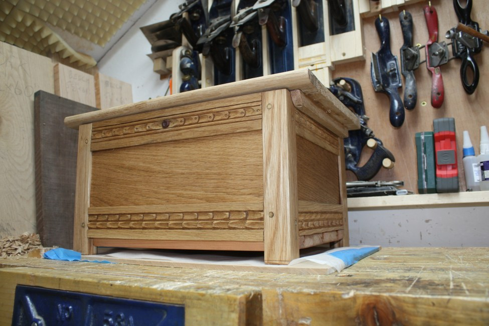 Baby Blanket Chest by Mark Dennehy