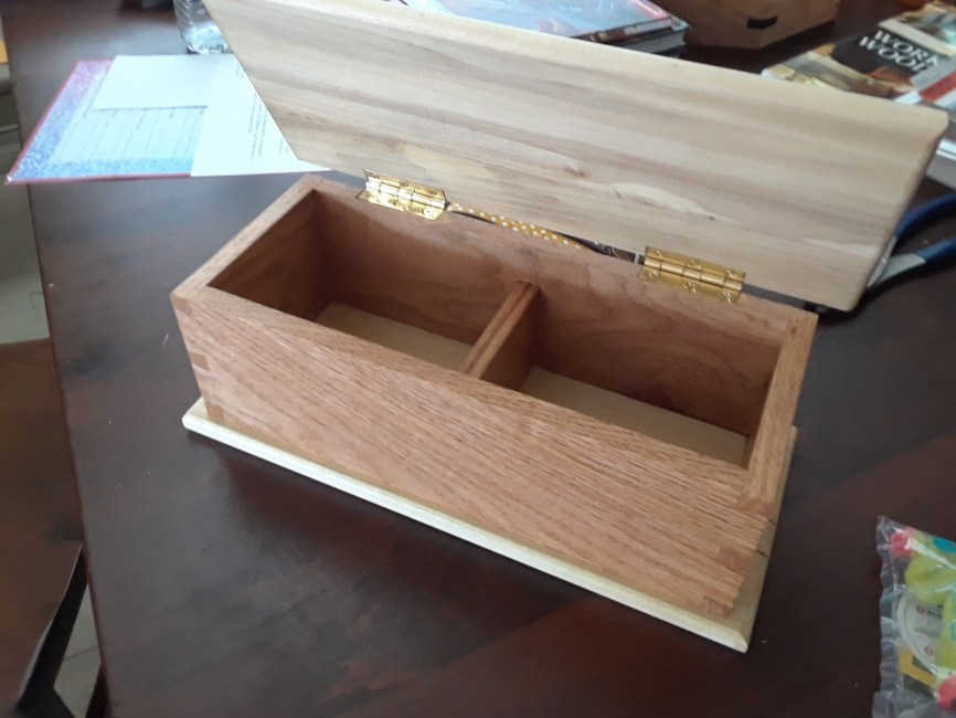 Dovetail Box by Peter Gaffney