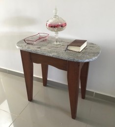 Arcabo wood, granite top