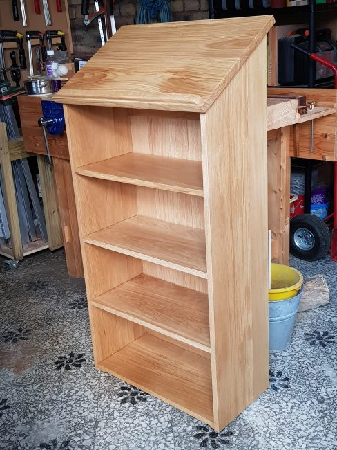 Lecturn Bookcase by nljsellers