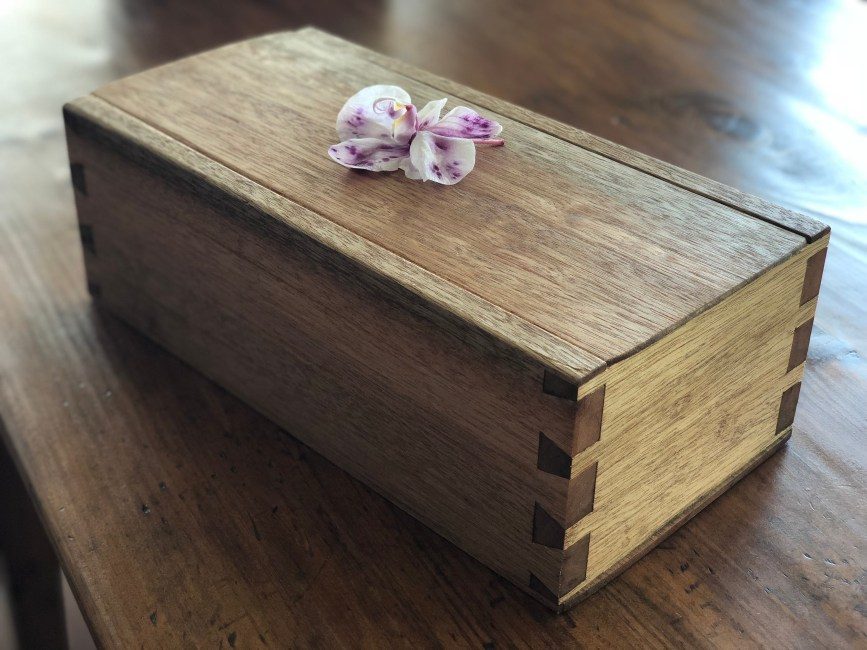 Dovetail Box by Kevin Herman