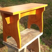 My first Shaker stool in American cherry