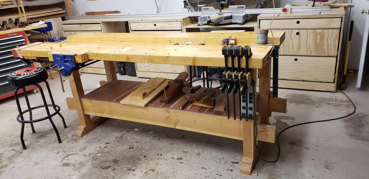 Workbench by Rick Wallin