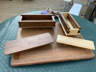 Dovetail Boxes by Jonathan Rahall
