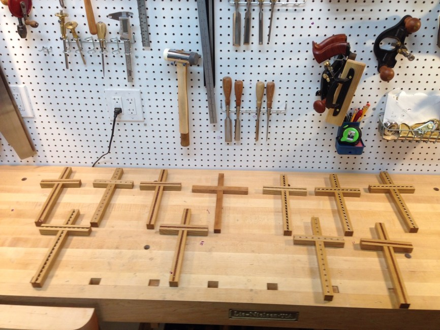 Inlay Crosses as Christmas Gifts by joeleonetti