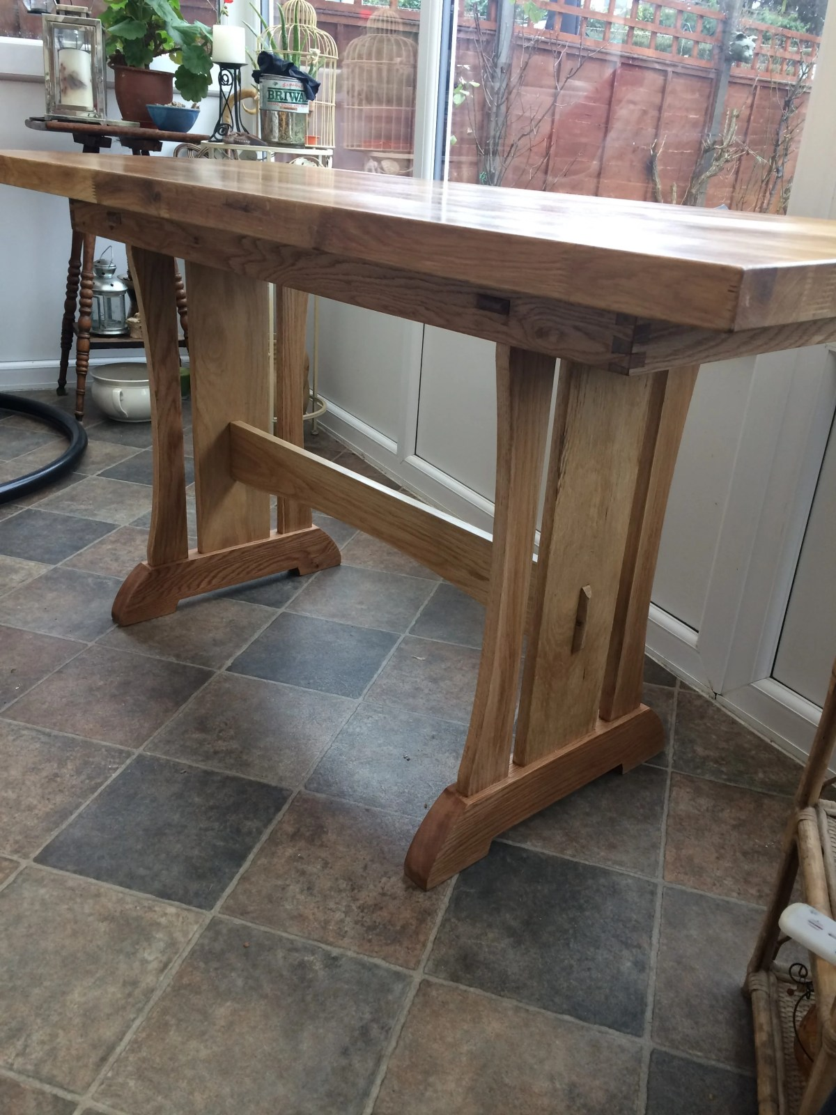 Trestle Table by Stephen Bettany