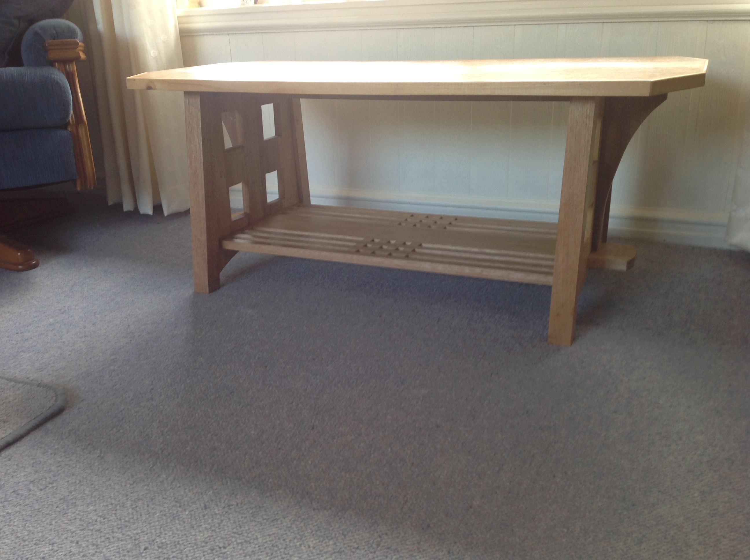 Coffee table by Roger Mason