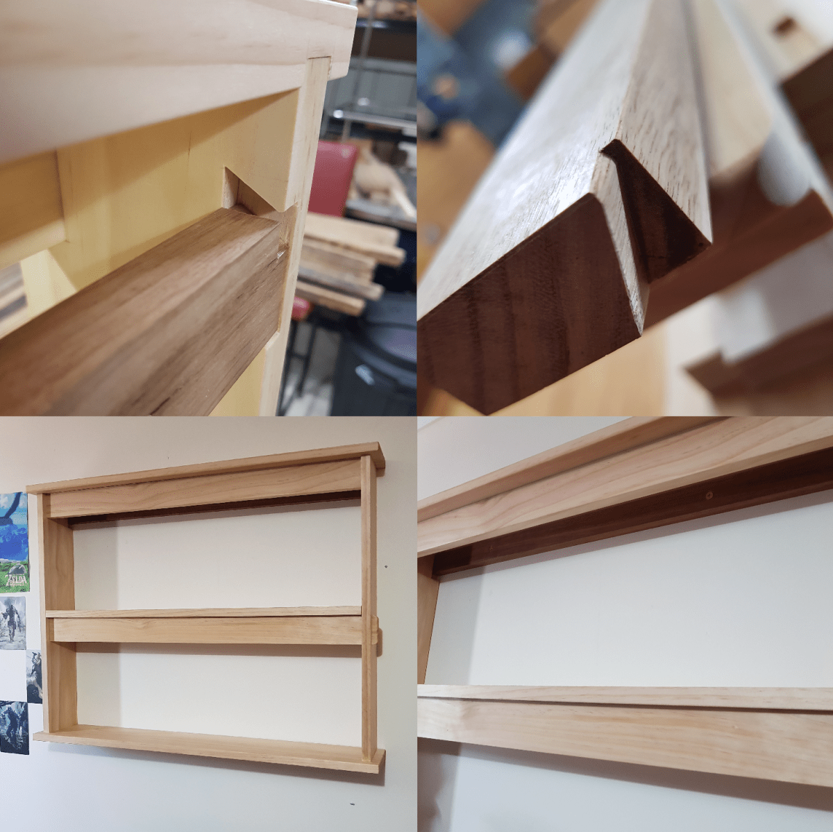Hanging Wall Shelf by Adam